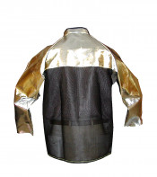 Cane Mesh Back Welding and Aluminized Jackets