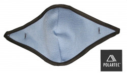 Mouthpiece only for use with PL60 features fleece lining.