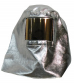 Hood with Gold Face Shield